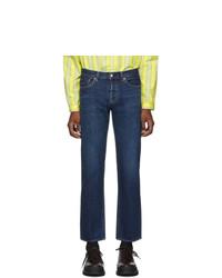 Мужские темно-синие джинсы от Moussy Vintage