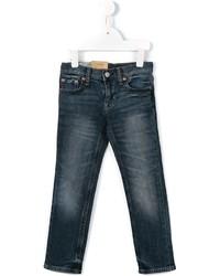 Детские темно-синие джинсы для девочке от Ralph Lauren