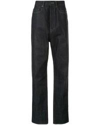Мужские темно-синие джинсы от Rick Owens DRKSHDW