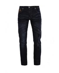 Мужские темно-синие джинсы от Sixth June