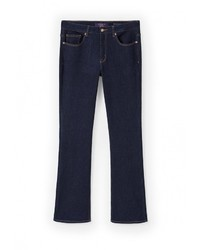 Женские темно-синие джинсы от Violeta BY MANGO