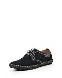 Мужские темно-синие замшевые ботинки от Nine Lines
