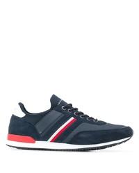 Мужские темно-синие замшевые кроссовки от Tommy Hilfiger