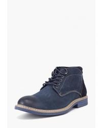 Мужские темно-синие замшевые повседневные ботинки от Airbox