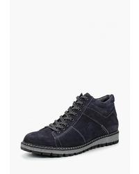 Мужские темно-синие замшевые повседневные ботинки от Badalli