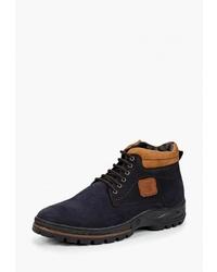 Мужские темно-синие замшевые повседневные ботинки от Sairus