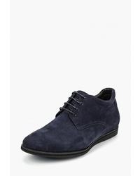 Мужские темно-синие замшевые повседневные ботинки от Vitacci