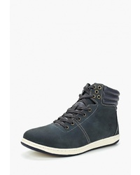 Мужские темно-синие замшевые рабочие ботинки от Reflex