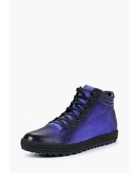 Мужские темно-синие замшевые рабочие ботинки от Vitacci