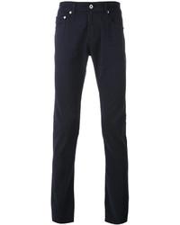 Мужские темно-синие зауженные джинсы от AG Jeans