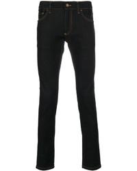 Мужские темно-синие зауженные джинсы от Dolce & Gabbana