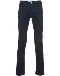 Мужские темно-синие зауженные джинсы от Frame