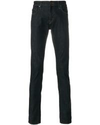Мужские темно-синие зауженные джинсы от J Brand