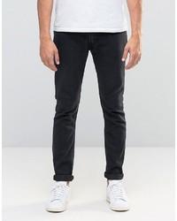 Мужские темно-синие зауженные джинсы от Lee