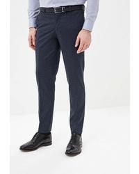 Мужские темно-синие классические брюки от Absolutex