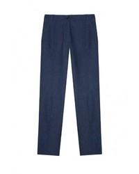 Женские темно-синие классические брюки от Base Forms