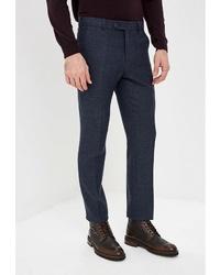 Мужские темно-синие классические брюки от Bazioni