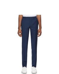 Мужские темно-синие классические брюки от BOSS