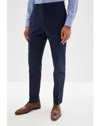 Мужские темно-синие классические брюки от Calvin Klein