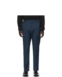 Мужские темно-синие классические брюки от Hugo
