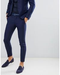 Мужские темно-синие классические брюки от Jack & Jones