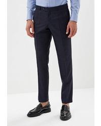 Мужские темно-синие классические брюки от Laconi