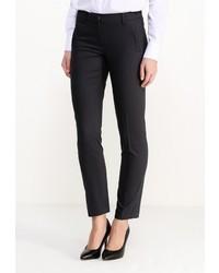 Женские темно-синие классические брюки от More&More