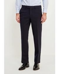 Мужские темно-синие классические брюки от STENSER