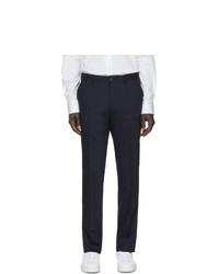 Мужские темно-синие классические брюки от Tiger of Sweden