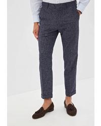Мужские темно-синие классические брюки от Tommy Hilfiger