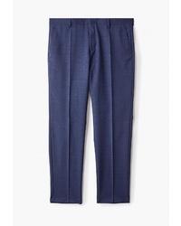 Мужские темно-синие классические брюки от Tommy Hilfiger Tailored