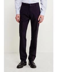 Мужские темно-синие классические брюки от WHITNEY