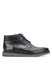 Темно-синие кожаные ботинки дезерты от Lloyd