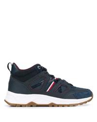 Мужские темно-синие кожаные кроссовки от Tommy Hilfiger