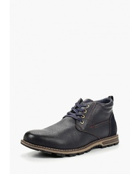 Мужские темно-синие кожаные повседневные ботинки от T.Taccardi