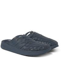 Мужские темно-синие кожаные сандалии от Malibu