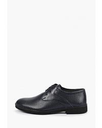 Темно-синие кожаные туфли дерби от Airbox
