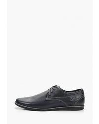 Темно-синие кожаные туфли дерби от Brado