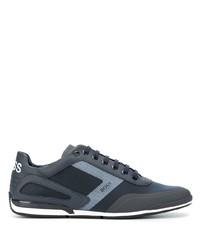 Мужские темно-синие кроссовки от BOSS HUGO BOSS
