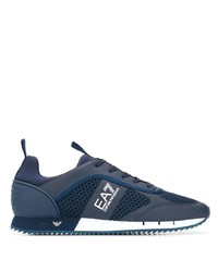 Мужские темно-синие кроссовки от Ea7 Emporio Armani
