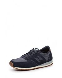 Женские темно-синие кроссовки от New Balance