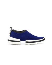 Женские темно-синие кроссовки от Stuart Weitzman