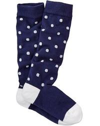 Темно-синие носки