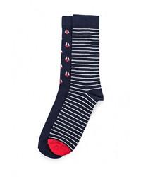 Мужские темно-синие носки от Mango Man