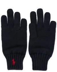 Детские темно-синие перчатки для мальчику от Ralph Lauren