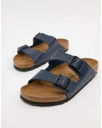Мужские темно-синие сандалии от Birkenstock