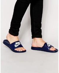 Мужские темно-синие сандалии от Nike