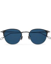 Темно-синие солнцезащитные очки