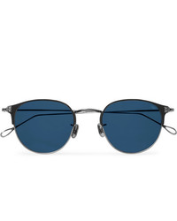 Мужские темно-синие солнцезащитные очки от Eyevan 7285