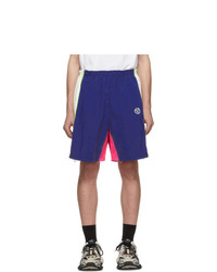 Темно-синие спортивные шорты